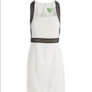 Pappagallo Sheath Dress Black and White